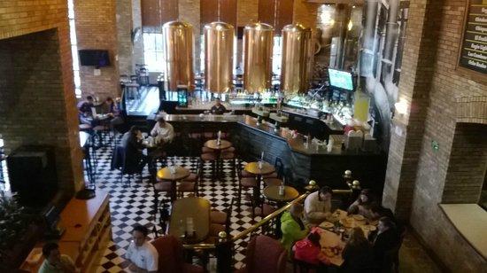 Sierra Madre Brewing Co. : SM sucursal Galerías