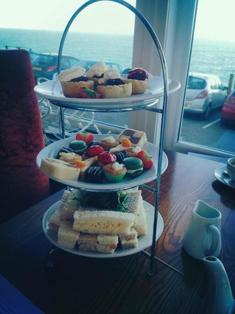 Fistral Beach Hotel and Spa : afternoon tea