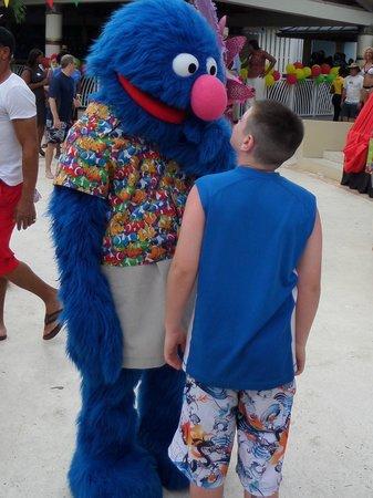 Beaches Ocho Rios Resort & Golf Club : Grover