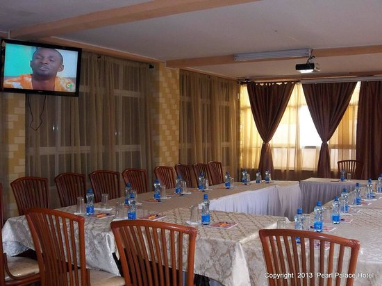 Hotel Pearl Palace: Peaceful conference facilities at fair prices