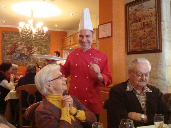 Au Chapeau Rouge : un chef passionné
