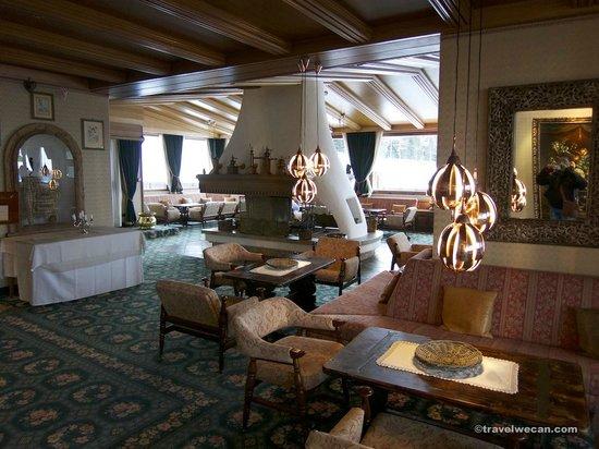 Hotel Sochers: Sala comune principale