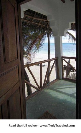 Upepo Boutique Beach Bungalows : Amazing view from the room.