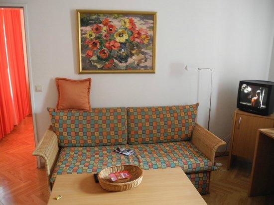 Konventa Seta Hotel: гостиная
