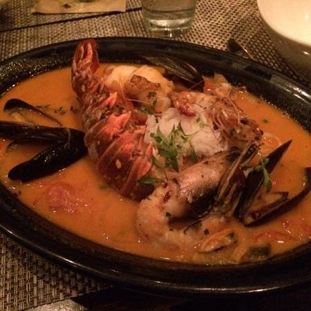 CEIBA: Moqueca, Brazilian fish stew.