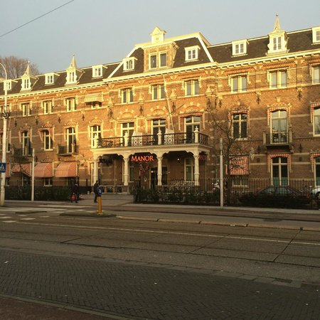 Hampshire Hotel - The Manor Amsterdam: hotel visto da fuori