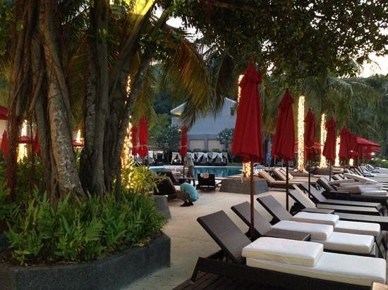 Amari Phuket: one of the pool areas