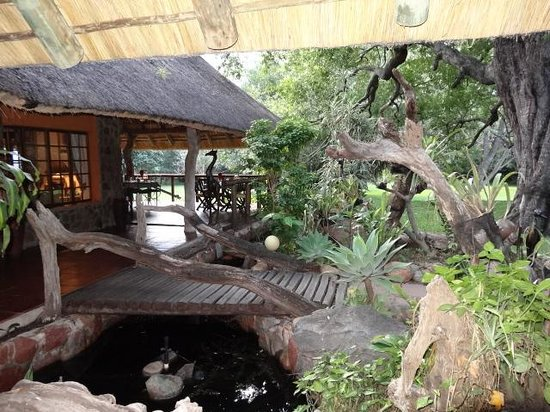 Blyde River Canyon Lodge: The gardens and landscape were befitting the natural environment.