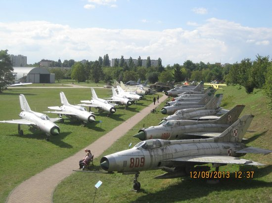 Polish Aviation Museum: Great Collection!