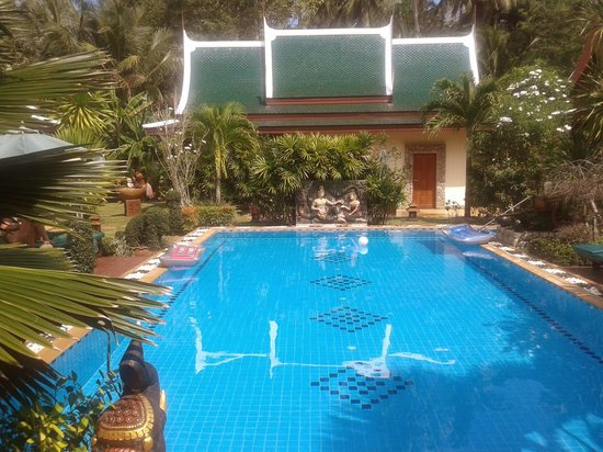 Baan Malinee Bed and Breakfast: mooie pool