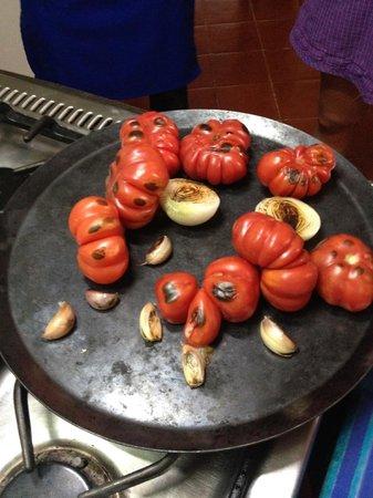 Alma de mi Tierra Cooking School: a la plancha