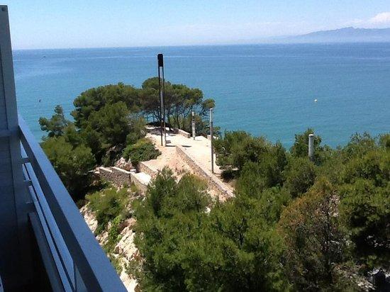 Cala Font Hotel: Вид с балкона