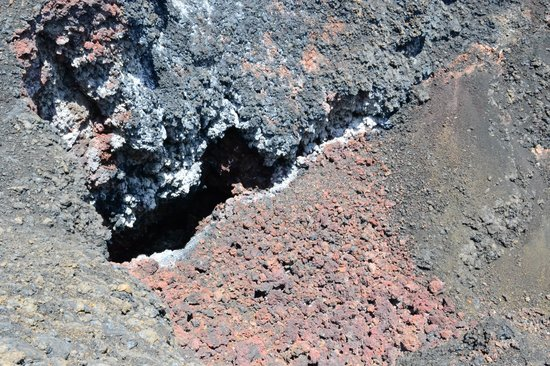 Sierra Negra: Volcan chico