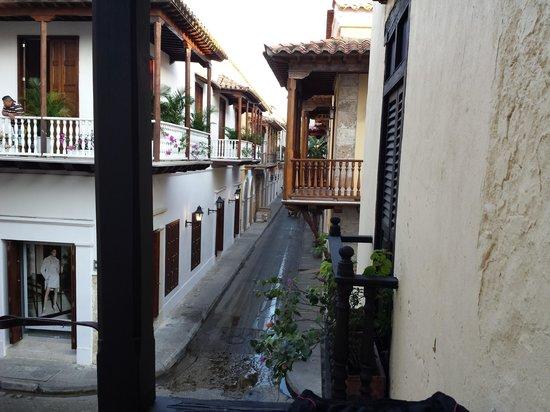 Centro Hotel : vista balcon pieza 207