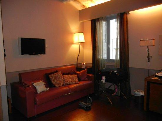 Condotti Hotel: espaçoso
