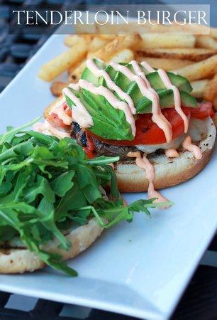 Pita Grille: Tenderloin Burger