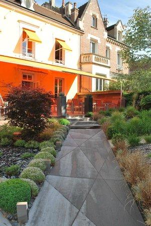 Quel clat foto van le jardin gourmand auxerre for Jardin gourmand