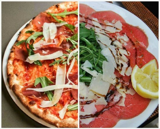 Was ist pizza carpaccio