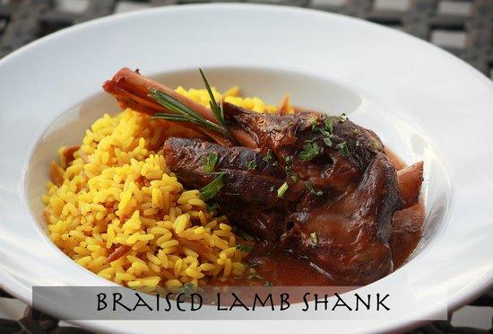 Pita Grille: Braised Lamb Shank