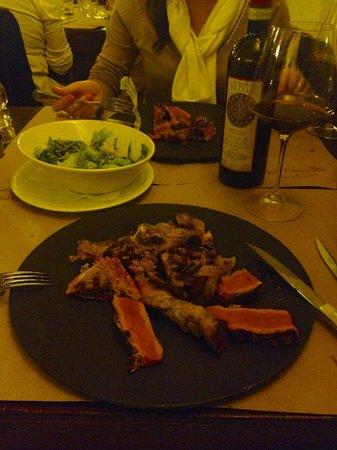 La Taverna di San Giuseppe: Лучший стейк по Флорентийски