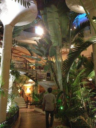 Sheraton Fuerteventura Beach, Golf & Spa Resort: hall végétal