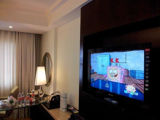 Savera Hotel: room view