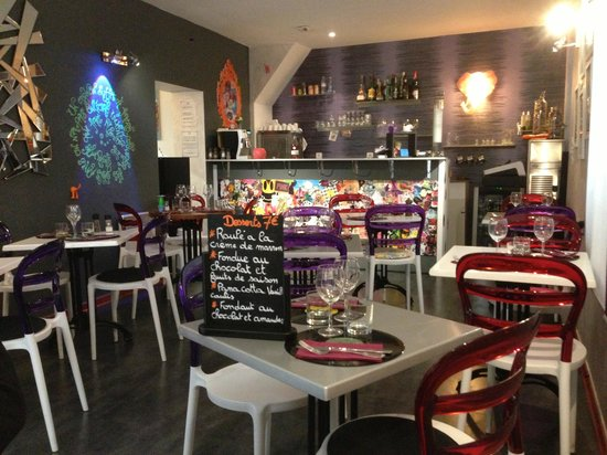 salle de restaurant photo de l 39 atypik resto montpellier tripadvisor. Black Bedroom Furniture Sets. Home Design Ideas
