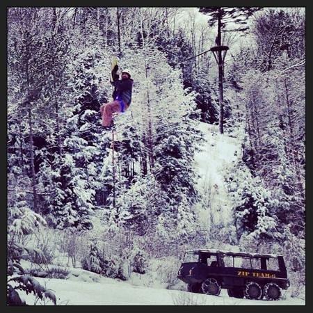 Alpine Adventures Outdoor Recreation : Ziplining! Love this view.