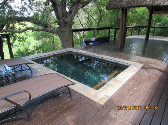 Plunge pool on deck of our room picture of elephant for Pool design games