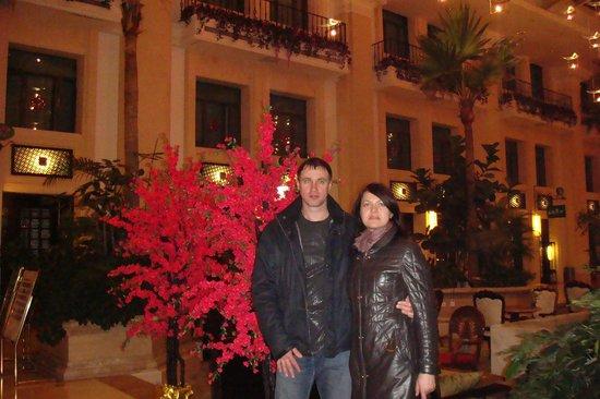 Beijing Jianguo Hotel: Холл отеля