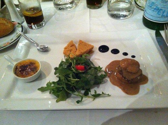 Auberge des Charmettes: trilogie de foie gras