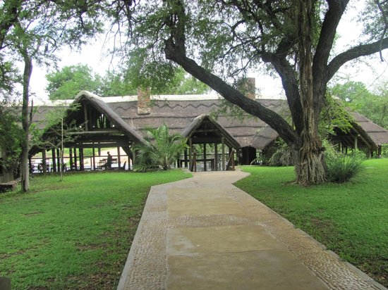 Thornybush Game Lodge: Main Building