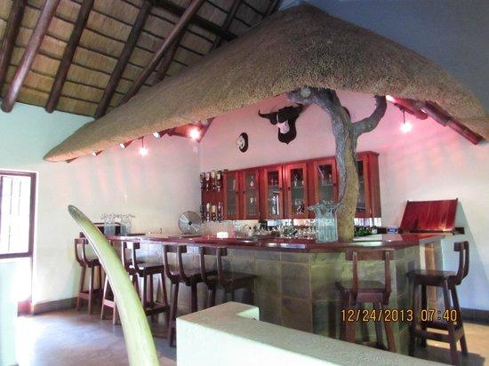 Elephant Plains Game Lodge : bar