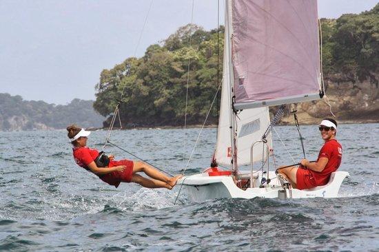 Isla Saboga: Navegando en Las Perlas