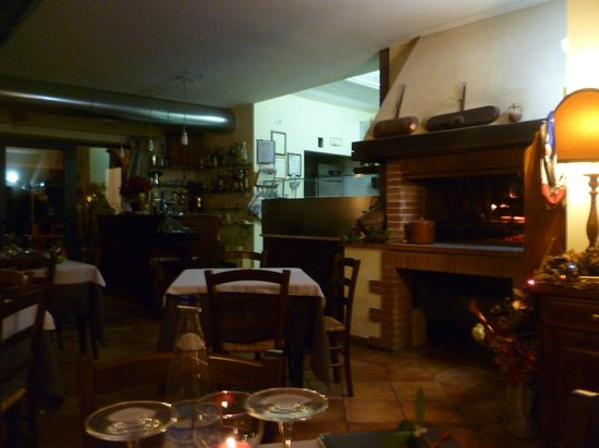 La Loggia del Chianti : Restaurant interior