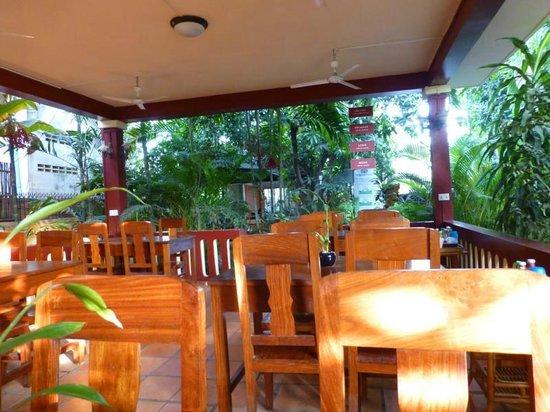 Bou Savy Guest House : Frühstück, Mittagessen, Abendessen, alles im Paradies