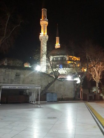 La mosquée Eyüp Sultan (Eyup Sultan Camii) : Evet