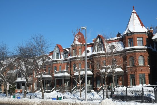 Auberge The King Edward Bed and Breakfast: A cold day in Ottawa