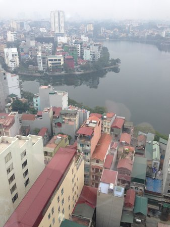 Pan Pacific Hanoi : Vista de Hanói do hotel