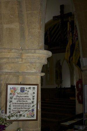 St. Edward's Church: Quaint Interior