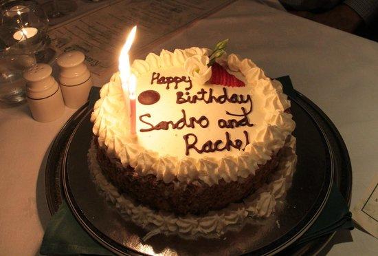 Ristorante Da Vinci - Torta di compleanno