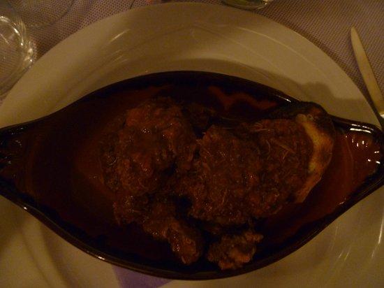 La Loggia del Chianti : loin of boar