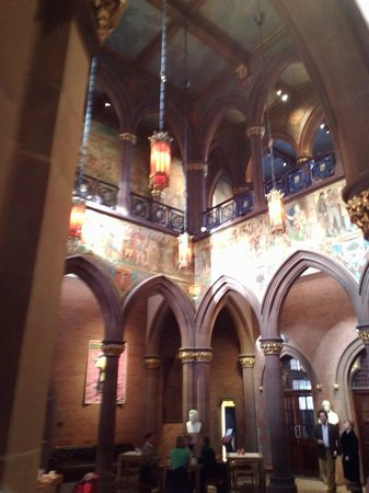 Scottish National Portrait Gallery: looking up