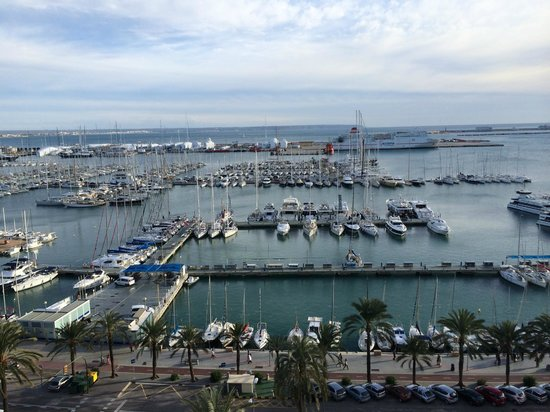 TRYP Palma Bellver Hotel : Worth the upgrade for this view