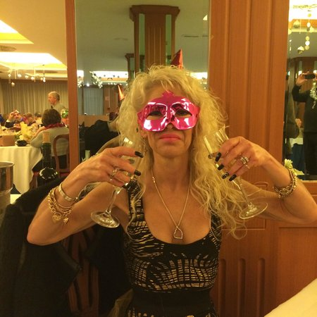 Hotel Palma Bellver By Melia : Michele toasting in the New Year
