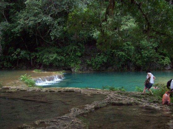 El Muro Lanquin: fiume
