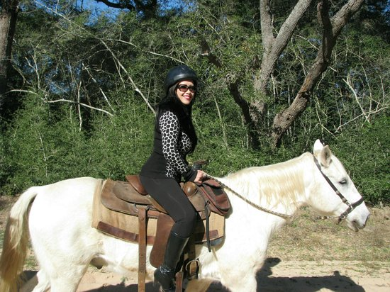 BlissWood Bed and Breakfast Ranch : Horseback riding
