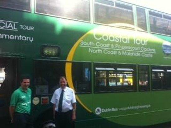 DoDublin: Driver Shay Dublin Bus north Coast and Castle Tour