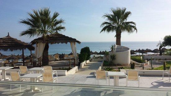 Iberostar Diar El Andalous: Ausblick vom Speisesaal zum Meer