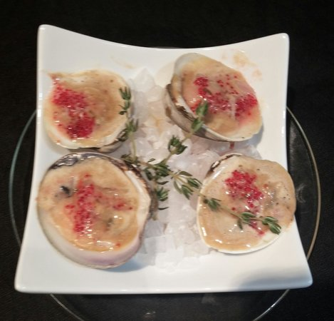 The Tasting Room At Gendron Catering: Baked Top Neck Clams with Lobster Butter